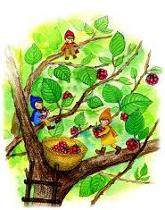 横浜シュタイナー幼稚園・こびとと木の実の絵